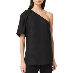 new women s textured one shoulder blouse