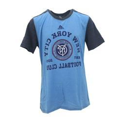 New York City FC Official MLS Adidas Apparel Kids Youth Size