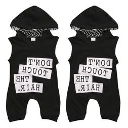Newborn Toddler Baby Kids Boys Outfit Clothes Cotton Romper