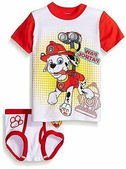 Nickelodeon Paw Patrol Boys' Marshall Underwear and T-Shirt