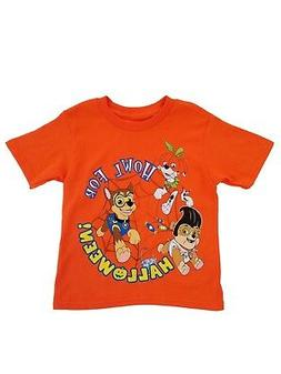 Paw Patrol Nickelodeon Toddler Boys Orange Howl For Hallowee