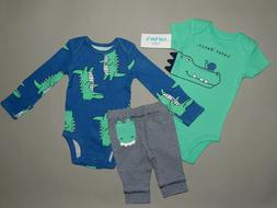 NWT, Baby boy clothes, Preemie, Carter's 2 piece set/**SEE D
