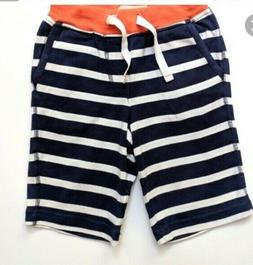 nwt boys navy white red jersey baggies