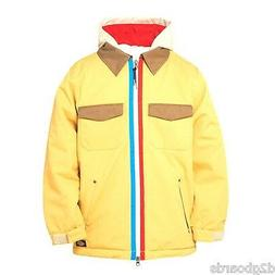 NWT 686 Dickies Shop Insulated Snowboard Jacket Boys L Large