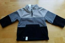 NWT THE CHILDREN'S PLACE Boys TODDLER Sweatshirt Pull UP GRA
