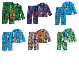 NWT Toddler Boy's 2-Pc Character Pajama Sets Spiderman Blaze