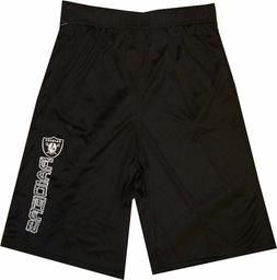 Oakland Raiders Youth Boys Shorts  Outerstuff Team Apparel 8
