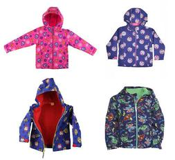 Official Kids Characters Soft Shell Full Zip Hooded Jacket B