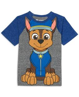 Nickelodeon Paw Patrol Boys 4 Chase Tee T-shirt Blue Clothes