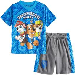 Nickelodeon Paw Patrol Toddler Boys' T-Shirt & Mesh Shorts C