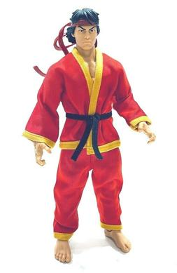 PB-KAT-RED: 1/12 Red Karate Gi uniform for Marvel Legends Sh