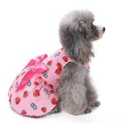 pet clothes for small dog dress spring girl puppy chihuahua