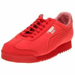 Puma Roma Non Marking Jr  - Red - Boys