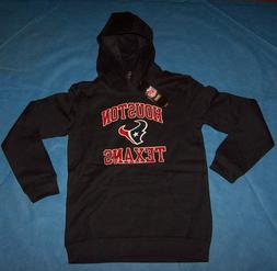 Size M 10/12  Boys Youth Houston Texans Hooded Sweatshirt NF