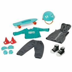 My Life As Skateboard Accessories Set Clothes Shoes Helmet f