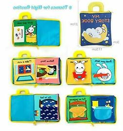 soft activity books for baby toddler learning