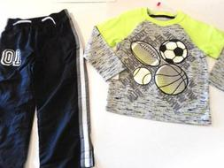 sports balls toddler boys outfits clothes pants