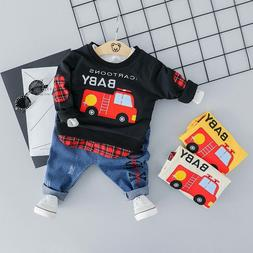 Spring Baby Boy Set Infant Clothing Sets Kids Outfits Baby C