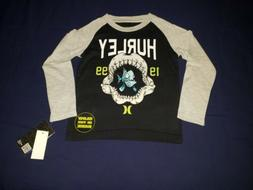 Stylish Brand New Size 7 Hurley Boys Long Sleeve Shirt Shark