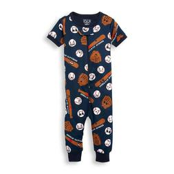THE CHILDREN'S PLACE 1PC BASEBALL BOYS FOOTLESS STRETCHIE SL