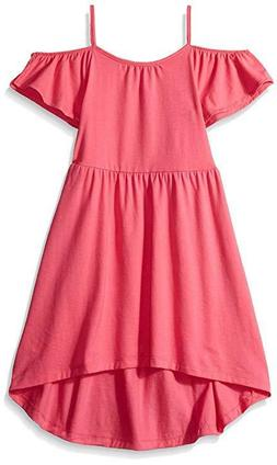 The Children's Place Girls Small  Pink Cold Off Shoulder Cas