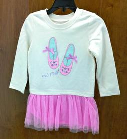 The Children's Place Toddler Girl's Tutu Dress Long Sleeve P