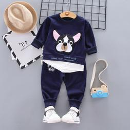 Toddler Baby Boy Outfits Clothes Clothing Infant Kids Boy T-