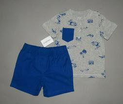 Toddler boy clothes, 3T, Carter's 2 piece set/ SEE DETAILS O