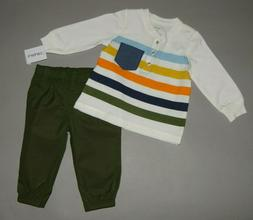 Toddler boy clothes, 5T, Carter's 2 piece set/   SEE DETAILS