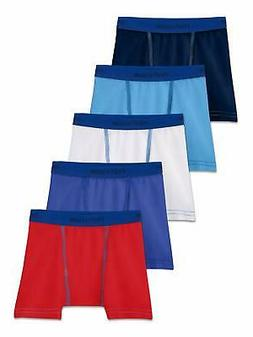Fruit of the Loom Toddler Boys 5 Pack Stretch Boxer Brief As