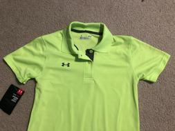 Under Armour Toddler Boys Fuel Green Polo Shirt, 18M, 2T or