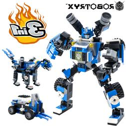 Transformers Robot Toy 3 in 1 Fun Creative Set For Boys Ages