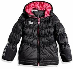 ulc childrens apparel little girls quilted puffer