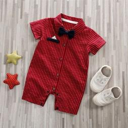 US NEW Formal Toddler Newborn Baby Boy Wedding Party Outfits