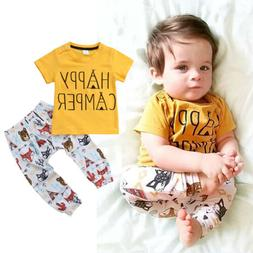usa toddler newborn baby boys tops t