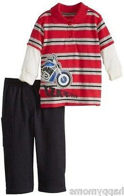 Watch Me Grow! by Sesame Street Baby-Boys Clothes 2 Pcs Set